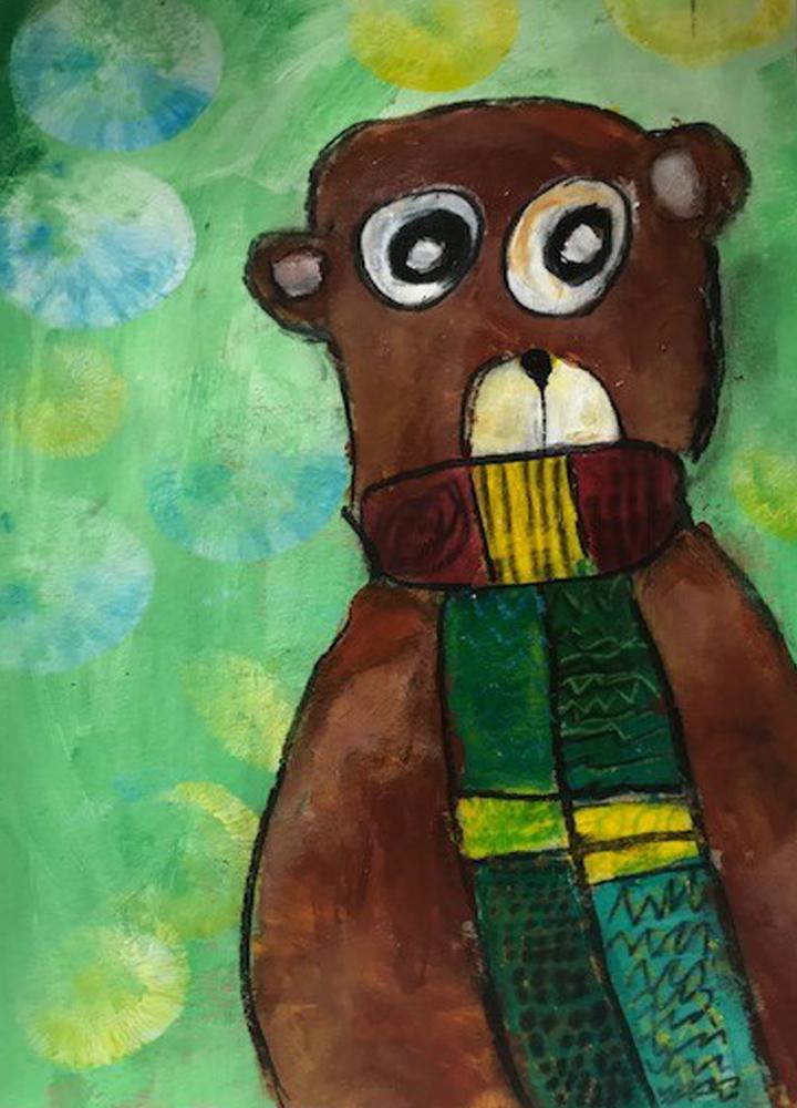 Kunstschule Kreativ Kinderatelier Kindergartenkinder
