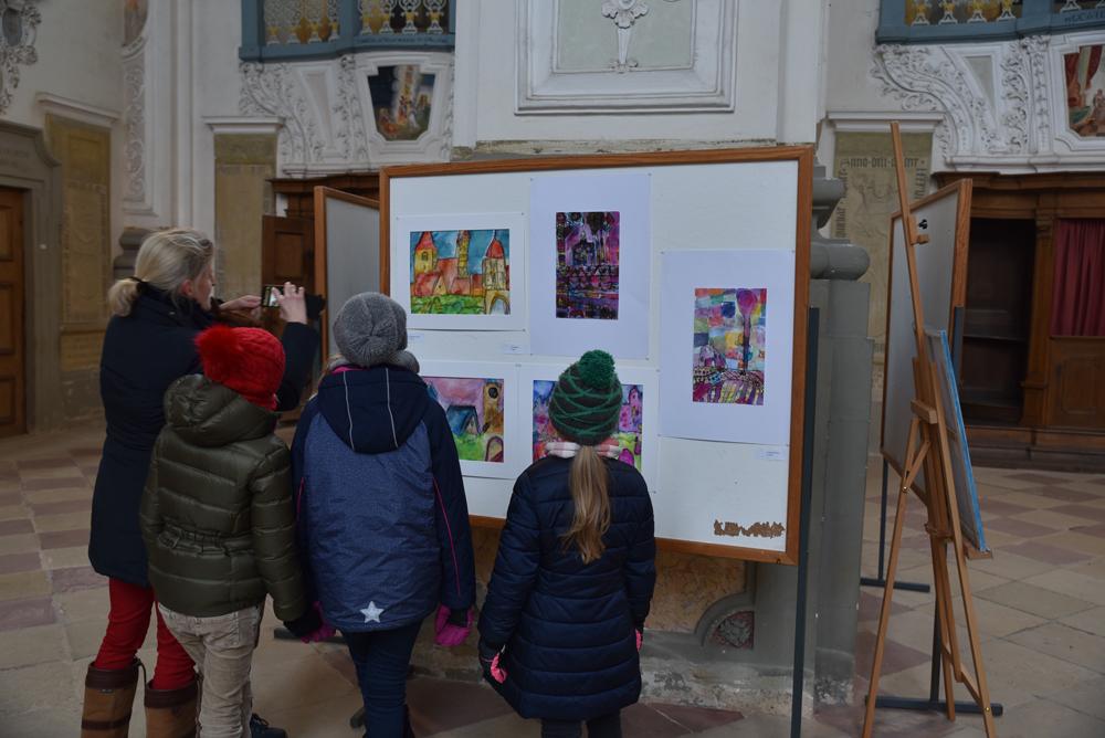 Weihnachtsmarkt Ausstellung Kunstschule Kreativ
