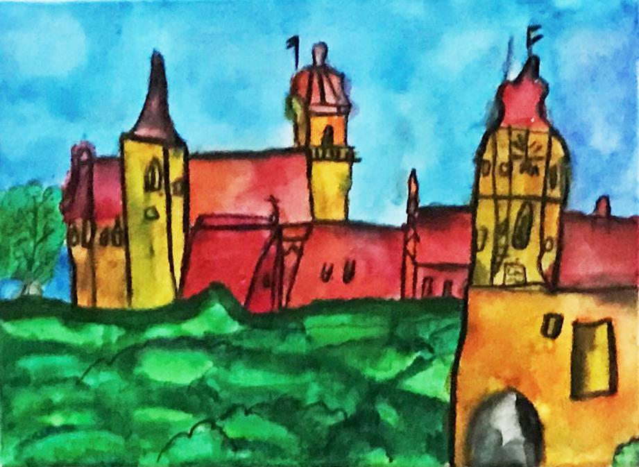 Kunstschule Kreativ Kunstwerkstatt Grundschulkinder Kloster Schöntal